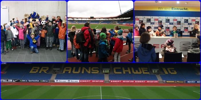 Eintrachtstadion Braunschweig - Draußentag am 19.03.2014